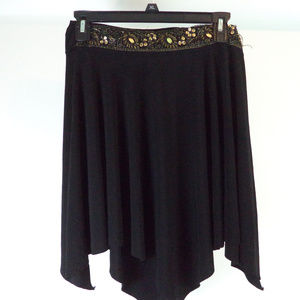 Teenie Weenie Black Mini Skirt M CL1518 0819